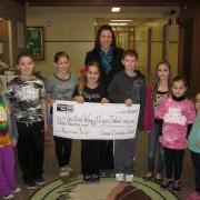 Cayuga School Children Rais Monty to Help Hurricane Sandy Victims
