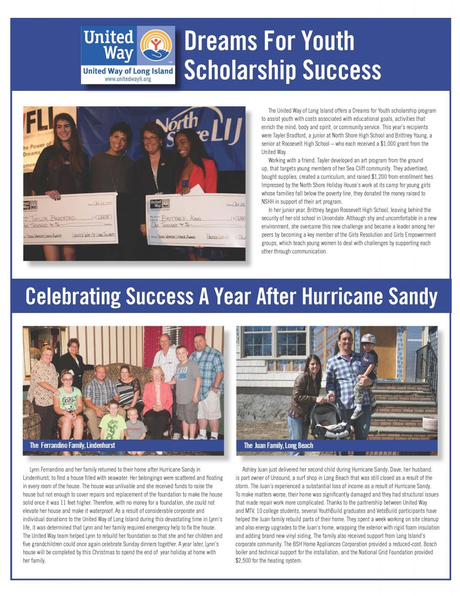 United Way of Long Island Real Life Stories